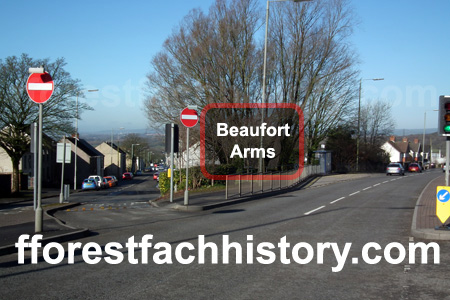 Beaufort Arms area 2012