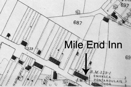 Mile End OS map 1879