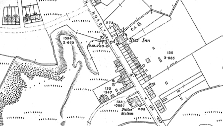 Worcester Colliery OS 1916 Map