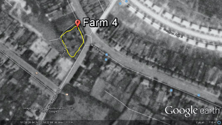 Gendros farm 1945 Google Earth