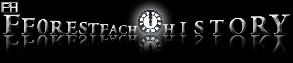 Fforestfach History with clock